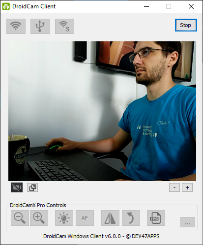 Use your Android phone as a webcam for Streamlabs - Start